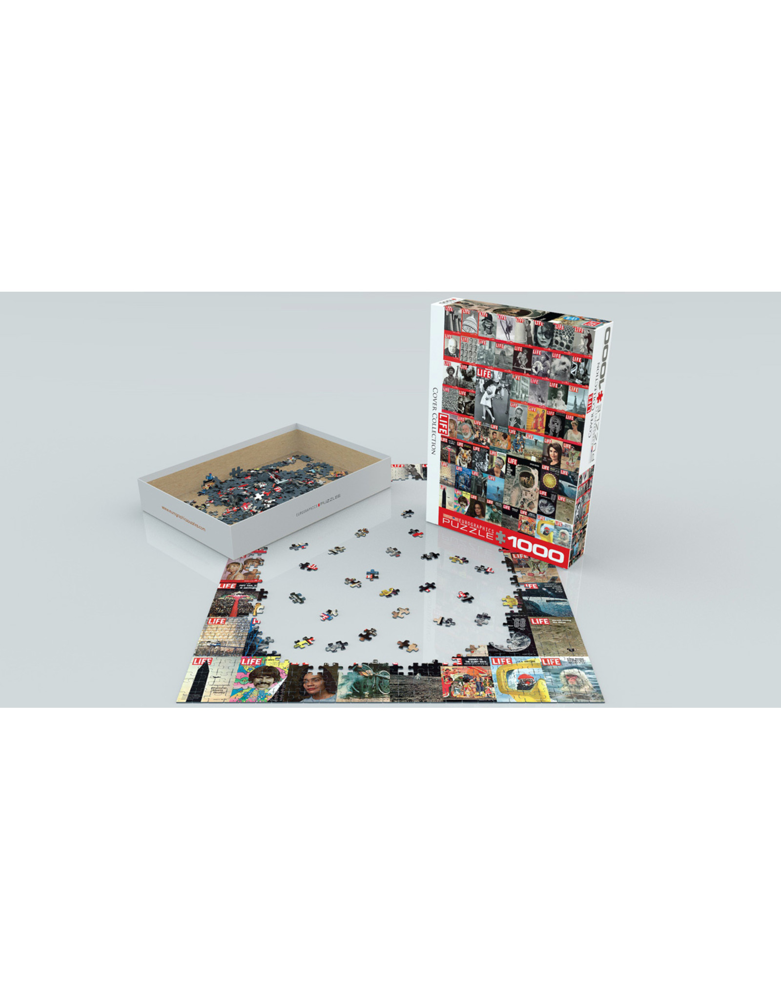"""Eurographics """"LIFE Cover Collection"""" 1000 Piece Puzzle"""