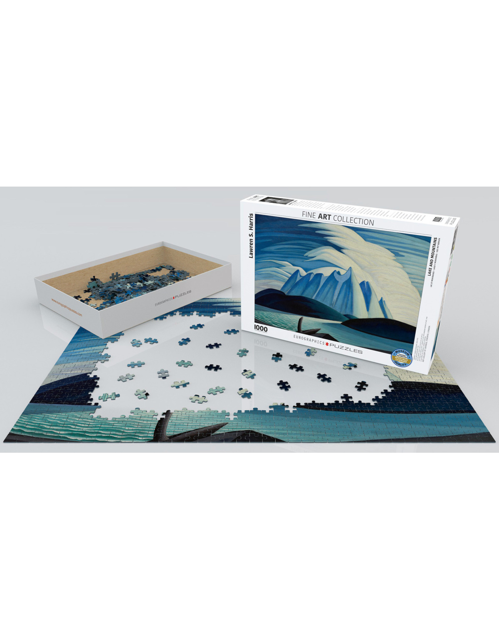 """Eurographics """"Lake and Mountains"""" 1000 Piece Puzzle"""