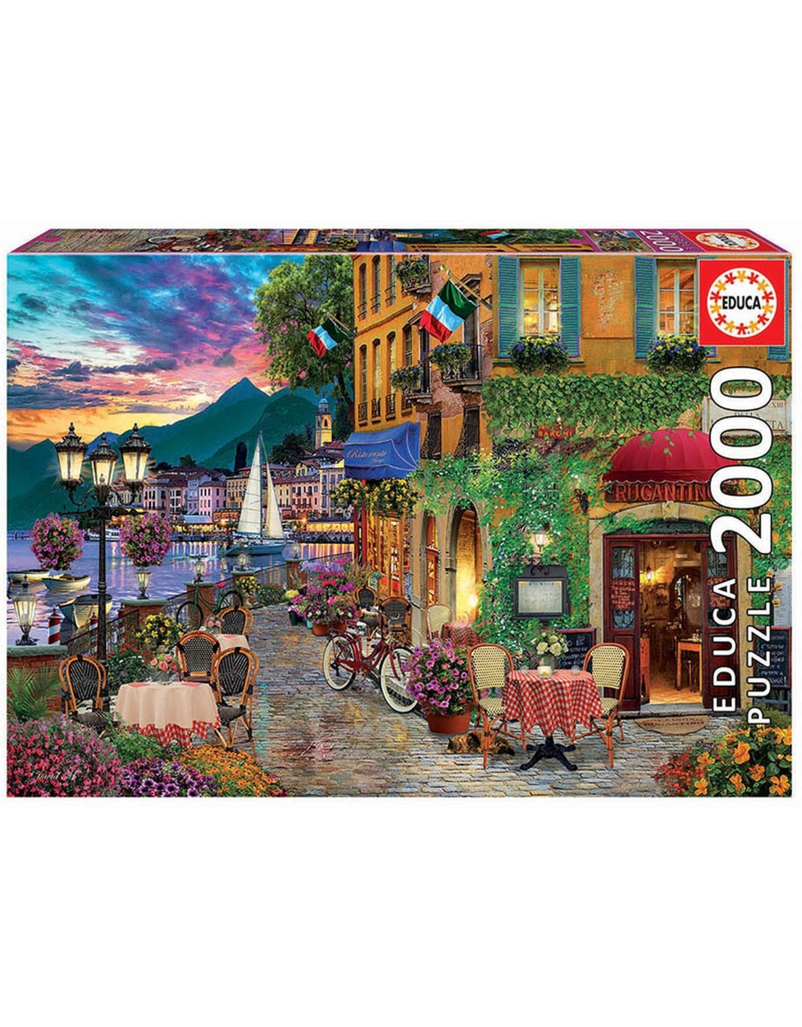 """Educa """"Italian Fascino"""" 2000 Piece Puzzle"""