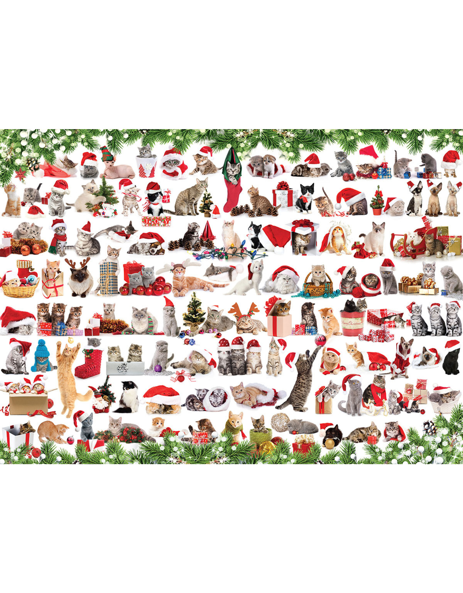 """Eurographics """"Holiday Cats"""" 1000 Piece Puzzle"""