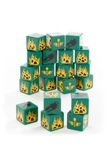 Games Workshop Space Marines: Salamander Dice