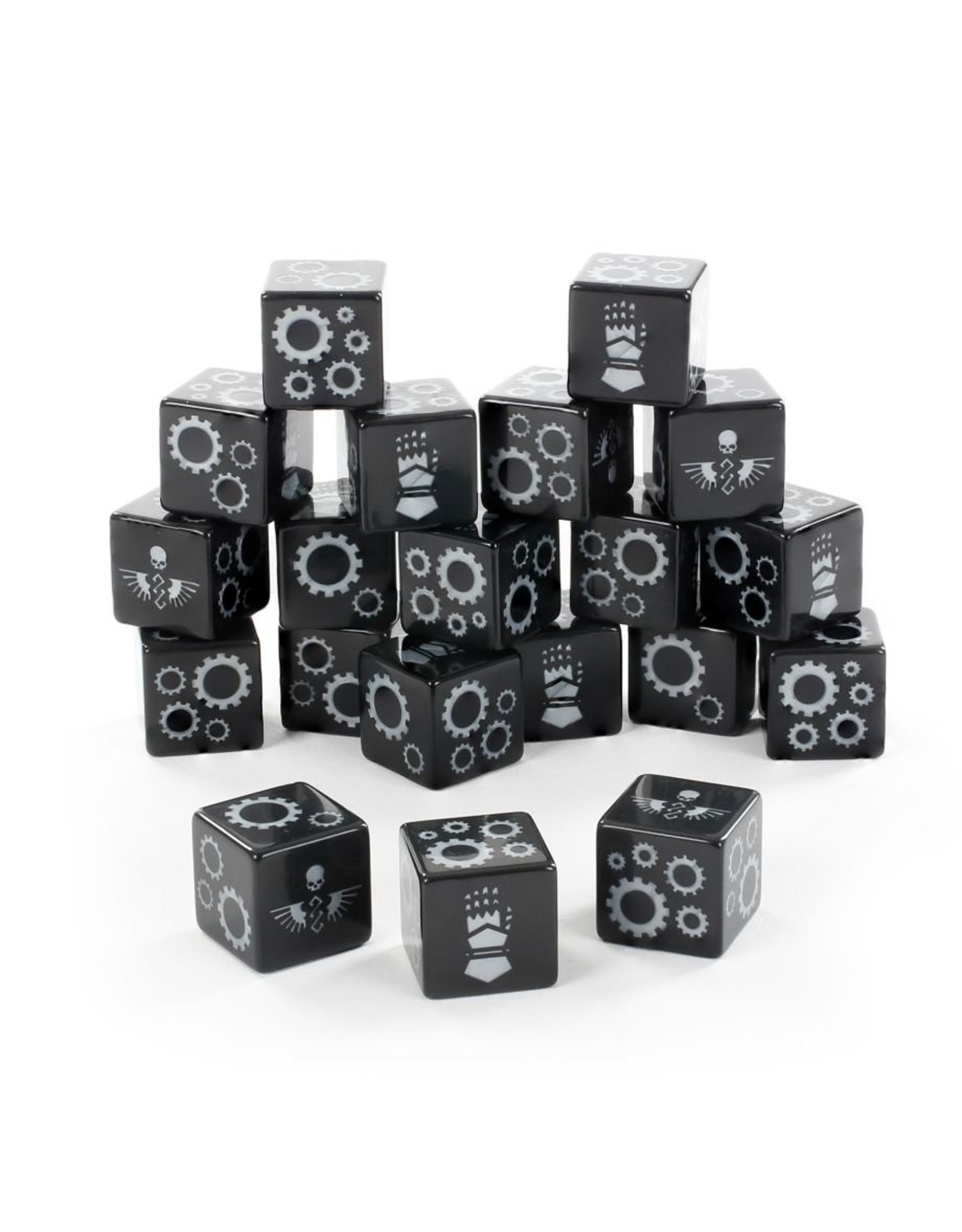 Games Workshop Space Marines: Iron hands Dice