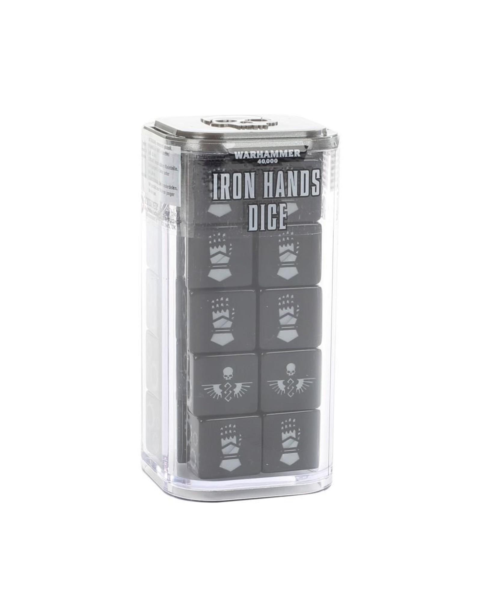 Games Workshop Space Marines: Iron hands Dice
