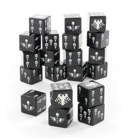 Games Workshop Space Marines: Raven Guard Dice
