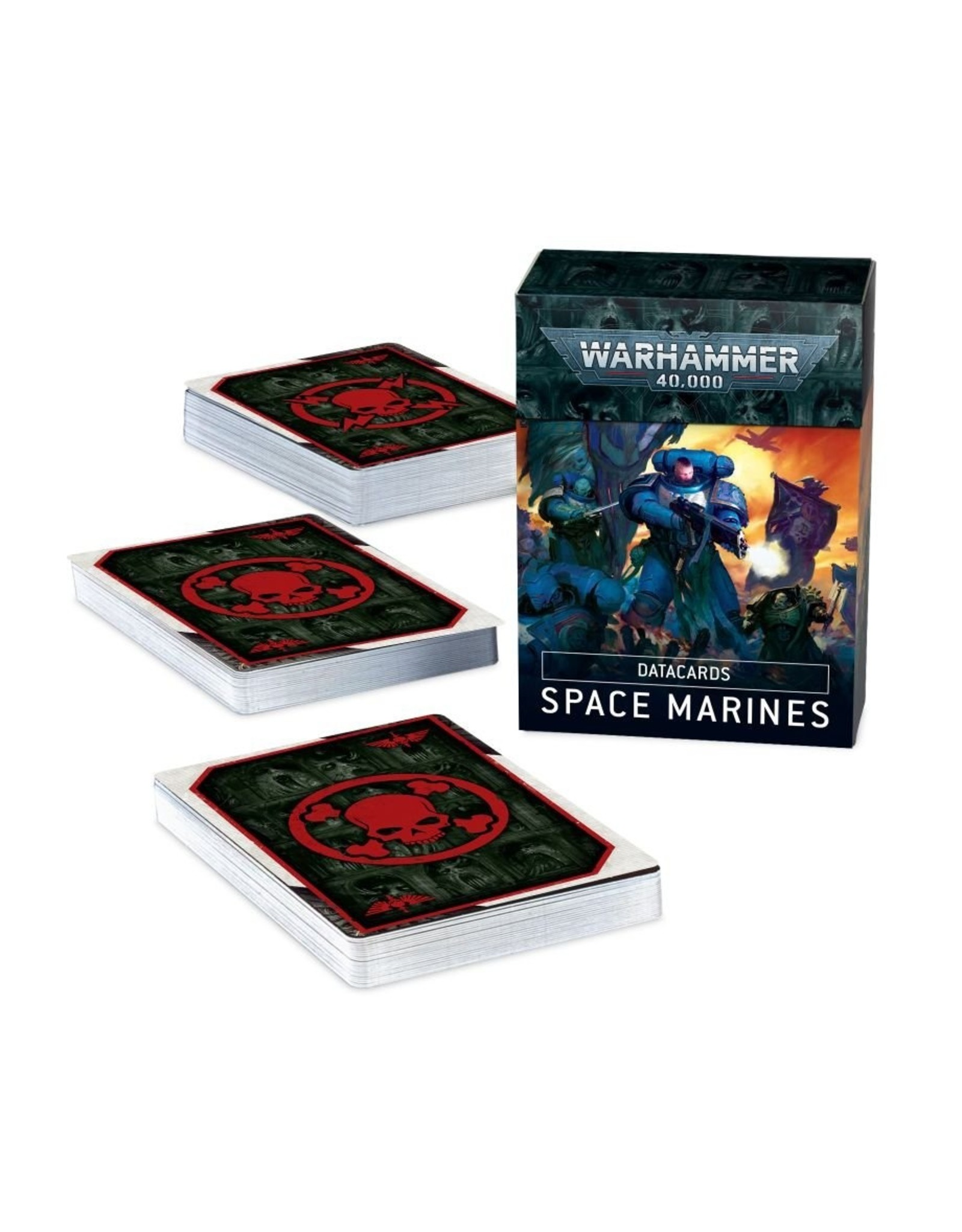 Games Workshop Space Marines: Datacards 9th