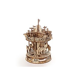 UGears Carousel Wood Model