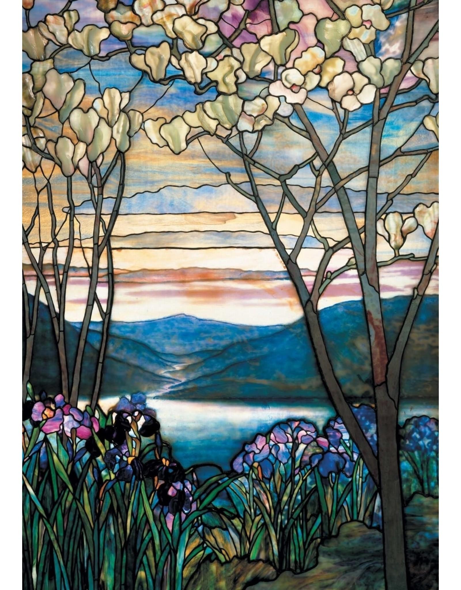 """Piatnik """"Tiffany Magnolias & Irises"""" 1000 Piece Puzzle"""