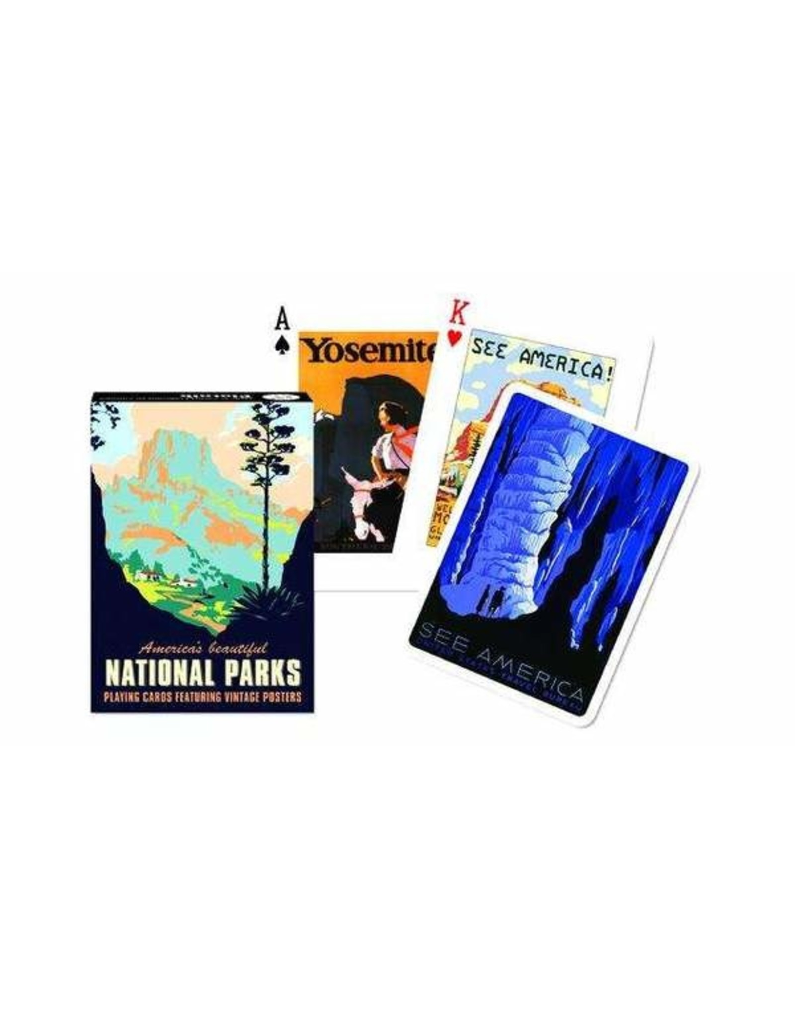 Piatnik National Parks Playing Cards
