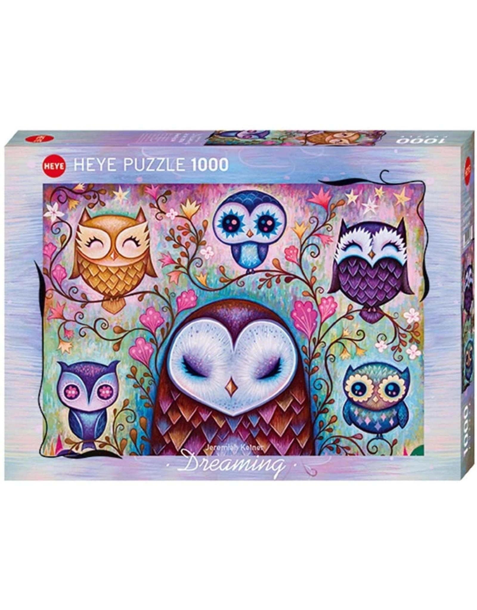 """Heye """"Great Big Owl"""" 1000 Piece Puzzle"""