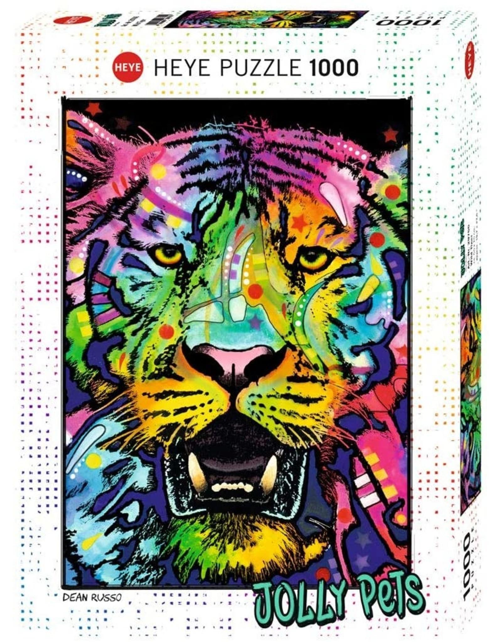 """Heye """"Wild Tiger"""" 1000 Piece Puzzle"""