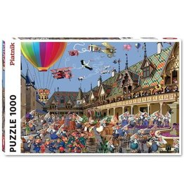 "Piatnik ""Wine Auction in Beaune"" 1000 Piece Puzzle"