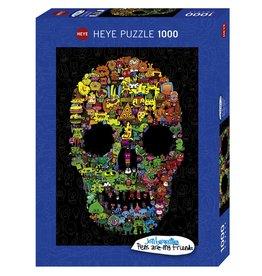 "Heye ""Doodle Skull"" 1000 Piece Puzzle"
