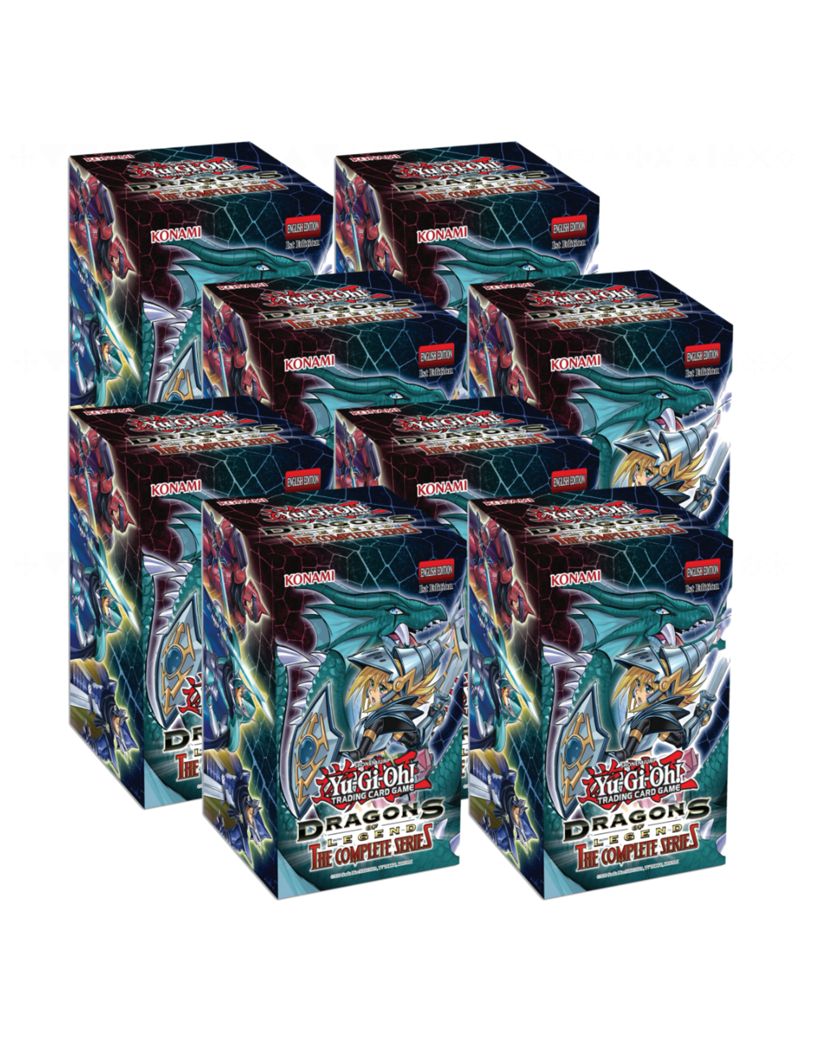 Konami Yu-Gi-Oh: Dragons of Legends - Complete Series Display Box