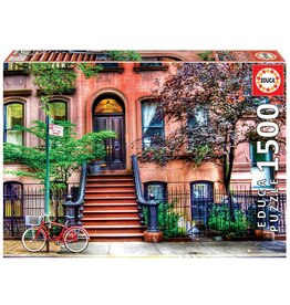 "Educa ""Greenwich Village, New York"" 1500 Piece Puzzle"