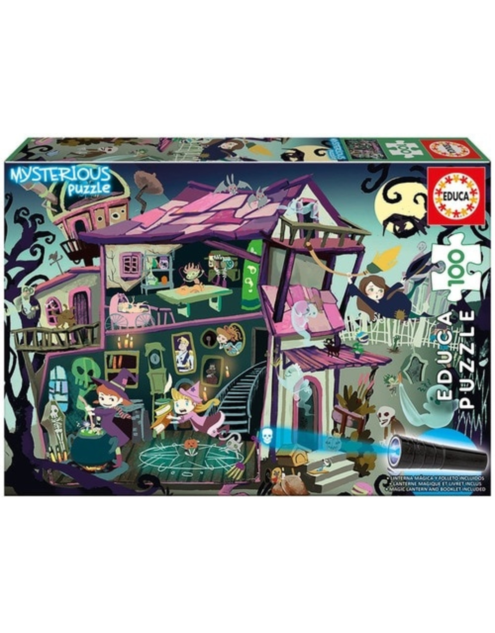 "Educa ""Ghost House"" Mysterious 100 Piece Puzzle"