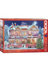 """Eurographics """"Getting Ready Christmas"""" 1000 Piece Puzzle"""