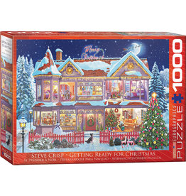 "Eurographics ""Getting Ready Christmas"" 1000 Piece Puzzle"
