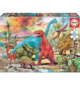"""Educa """"Dinosaurs"""" 100 Piece Puzzle"""