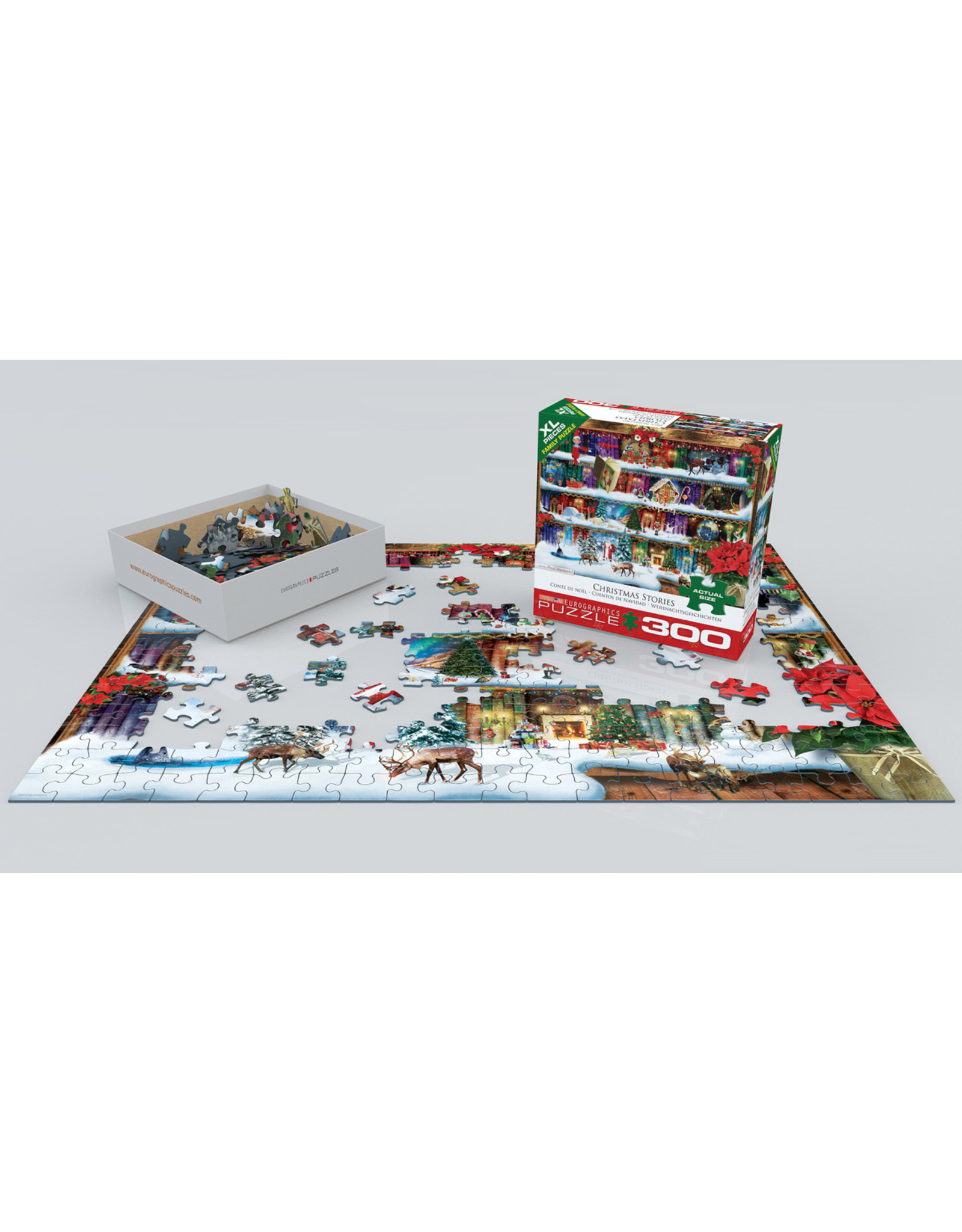 "Eurographics ""Christmas Stories"" 300 Piece Puzzle"