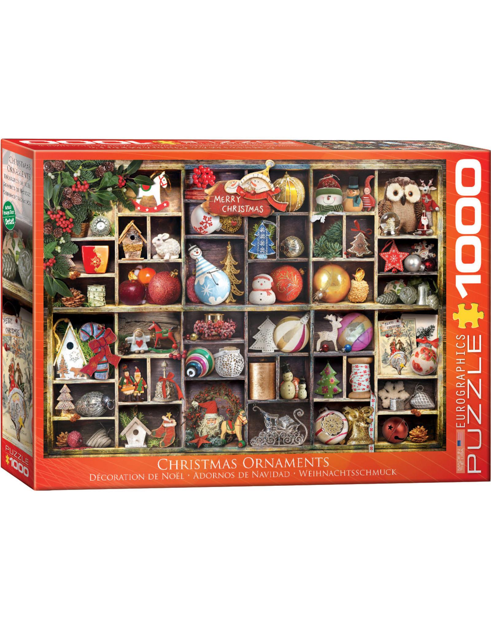 "Eurographics ""Christmas Ornaments"" 1000 Piece Puzzle"