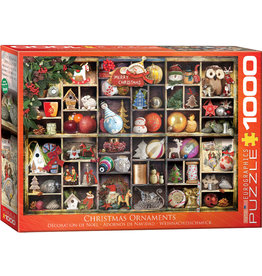 "Eurographics ""Christmas Ornaments"" 1000 Piece Puzzle"