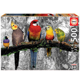"Educa ""Birds on the Jungle"" 500 Piece Puzzle"