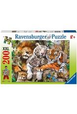 "Ravensburger ""Big Cat Nap"" 200 Piece Puzzle"