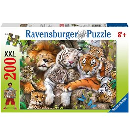"Ravensburger ""Big Cat Nap"" 200 Piece Puzzle"