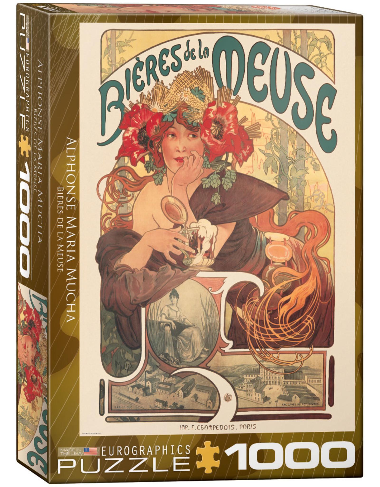 """Eurographics """"Bières de la Meuse"""" 1000 Piece Puzzle"""