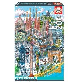 "Educa ""Barcelona"" 200 Piece Puzzle"