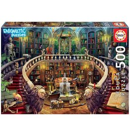 "Educa ""Antique Library"" 500 Piece Enigmatic Puzzle"