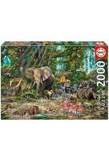 "Educa ""African Jungle"" 2000 Piece Puzzle"