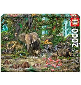 "Educa ""African Jungle"" 2000 Piece Puzzle"