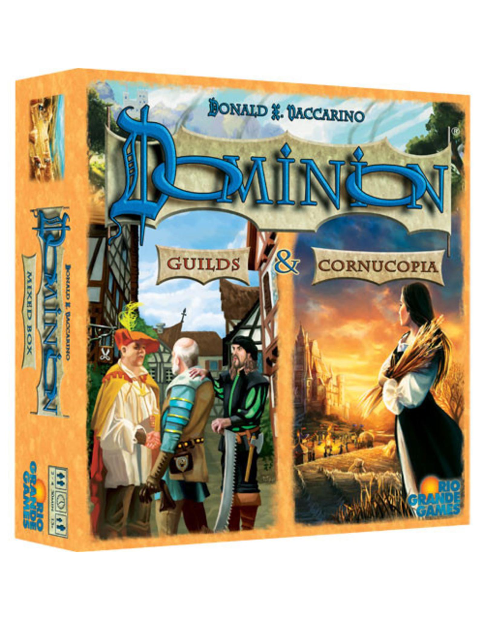 Rio Grande Games Dominion 2nd Ed guilds/Cornucopia Expansion