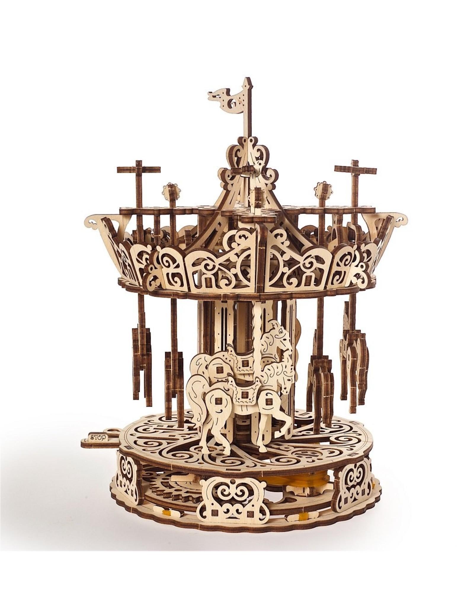 UGears Carousel Wood Model