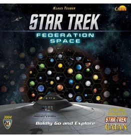 Catan Studios Star Trek Catan: Federation Space Expansion