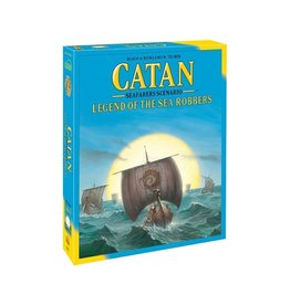 Catan Studios Catan: Legend of the Sea Robbers - Seafarers Scenario