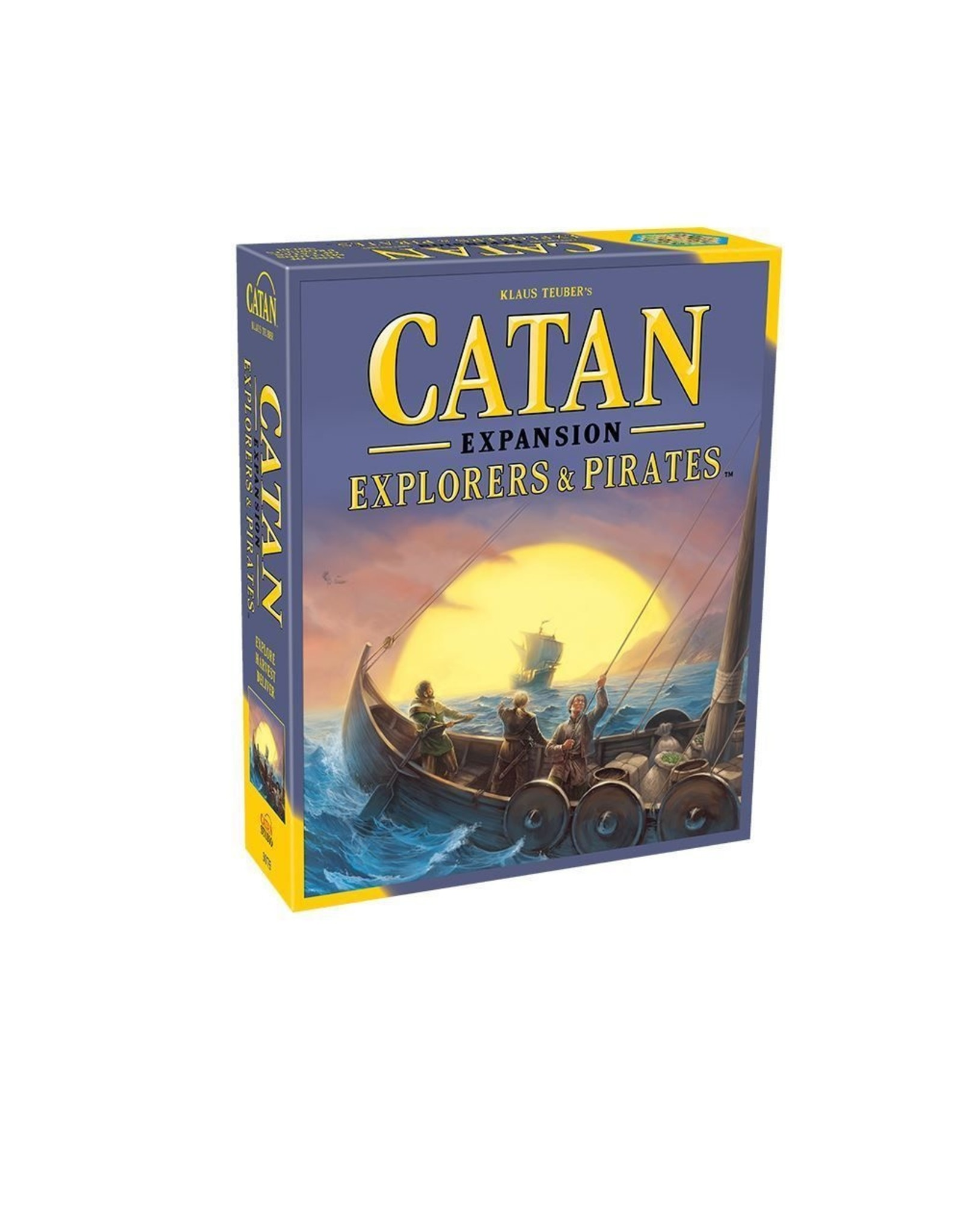 Catan Studios Catan: Explorers & Pirates Expansion