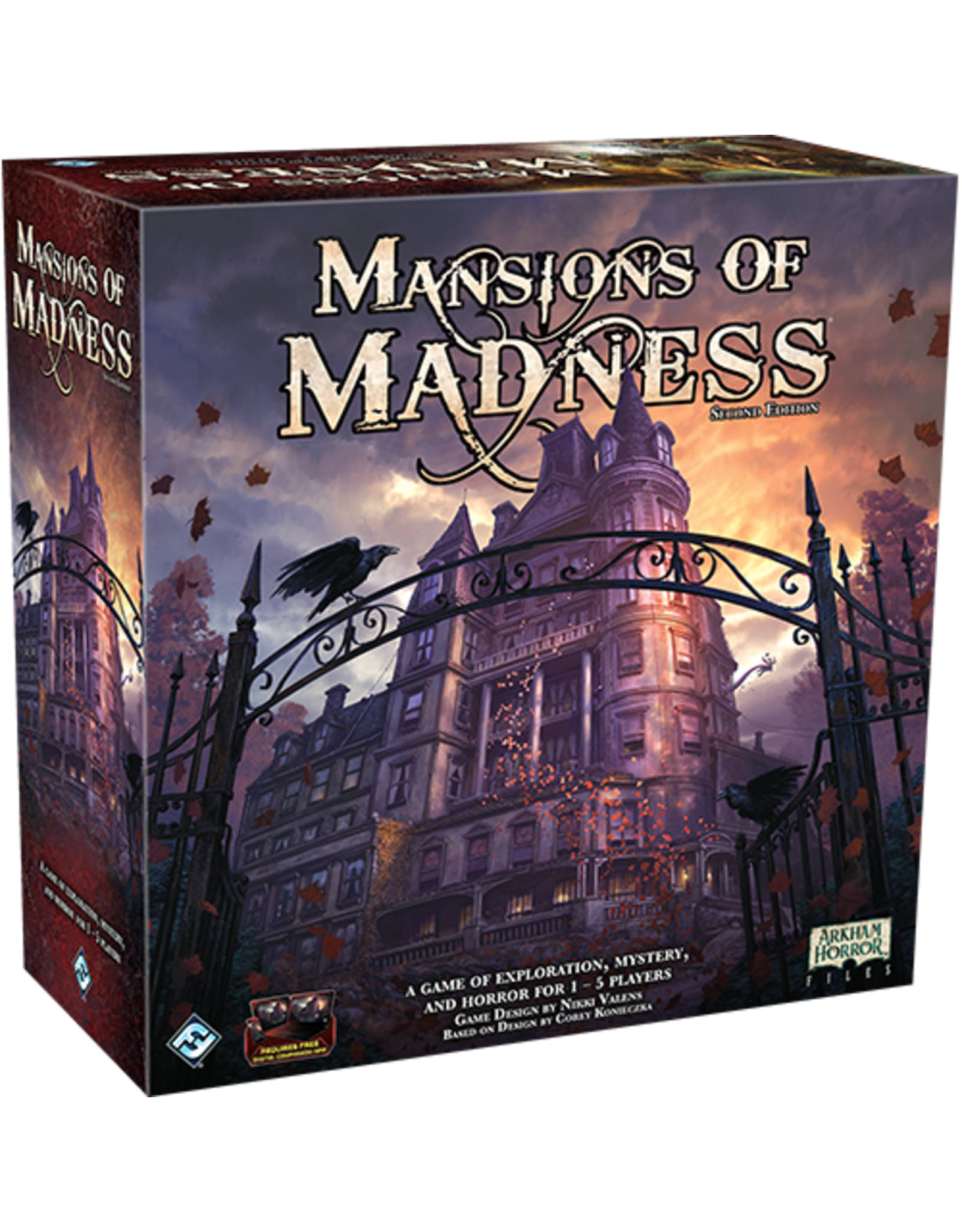 Fantasy Flight Games Mansions of Madness 2nd Ed.