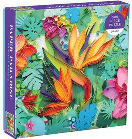 """Galison """"Paper Paradise"""" 500 Piece Puzzle"""