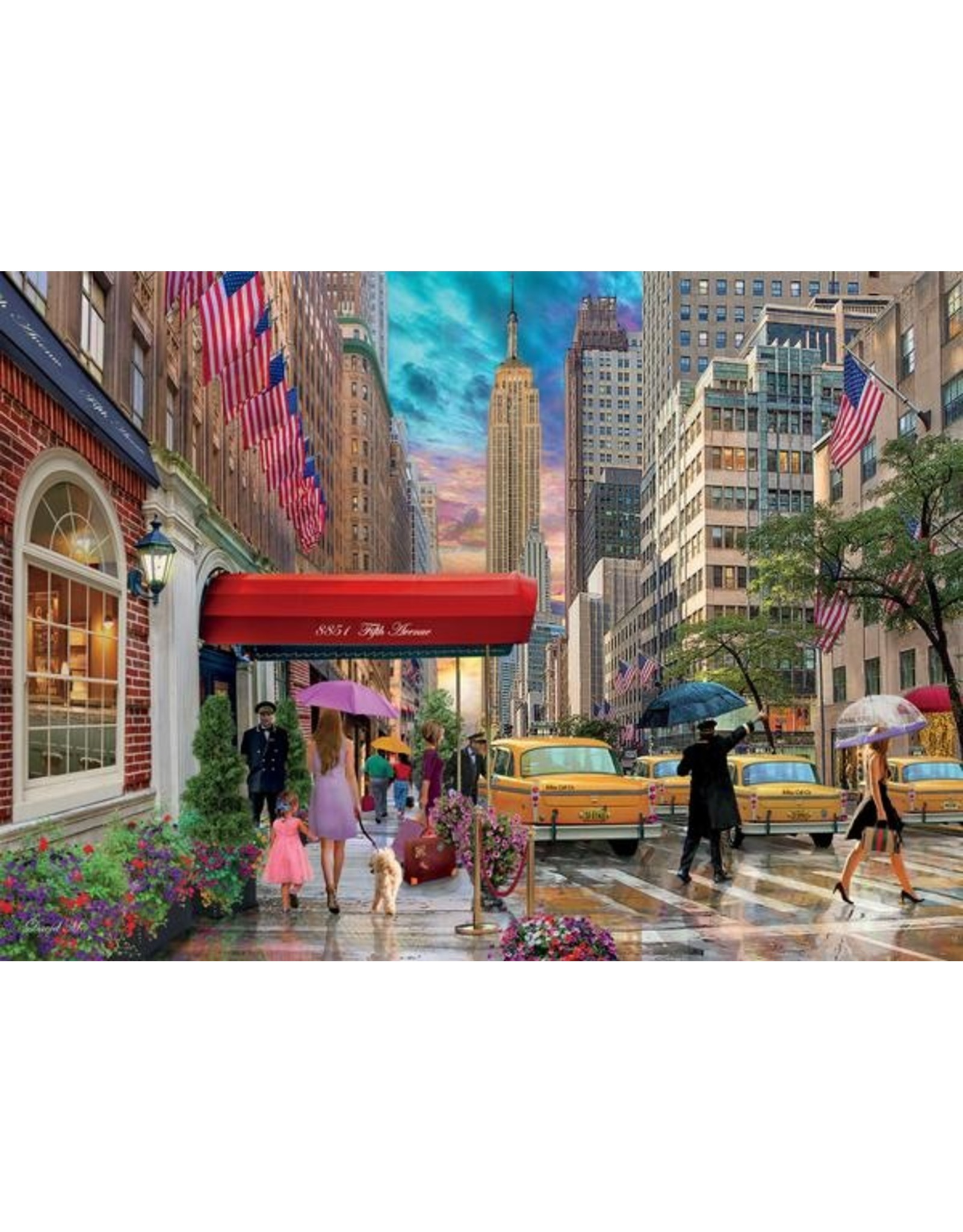 """Ceaco Cities Collection: """"New York"""" 1000 Piece Puzzle"""