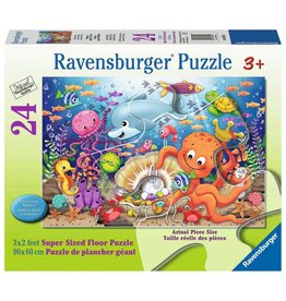 "Ravensburger ""Fishie's Fortune"" 24 Piece Floor Puzzle"