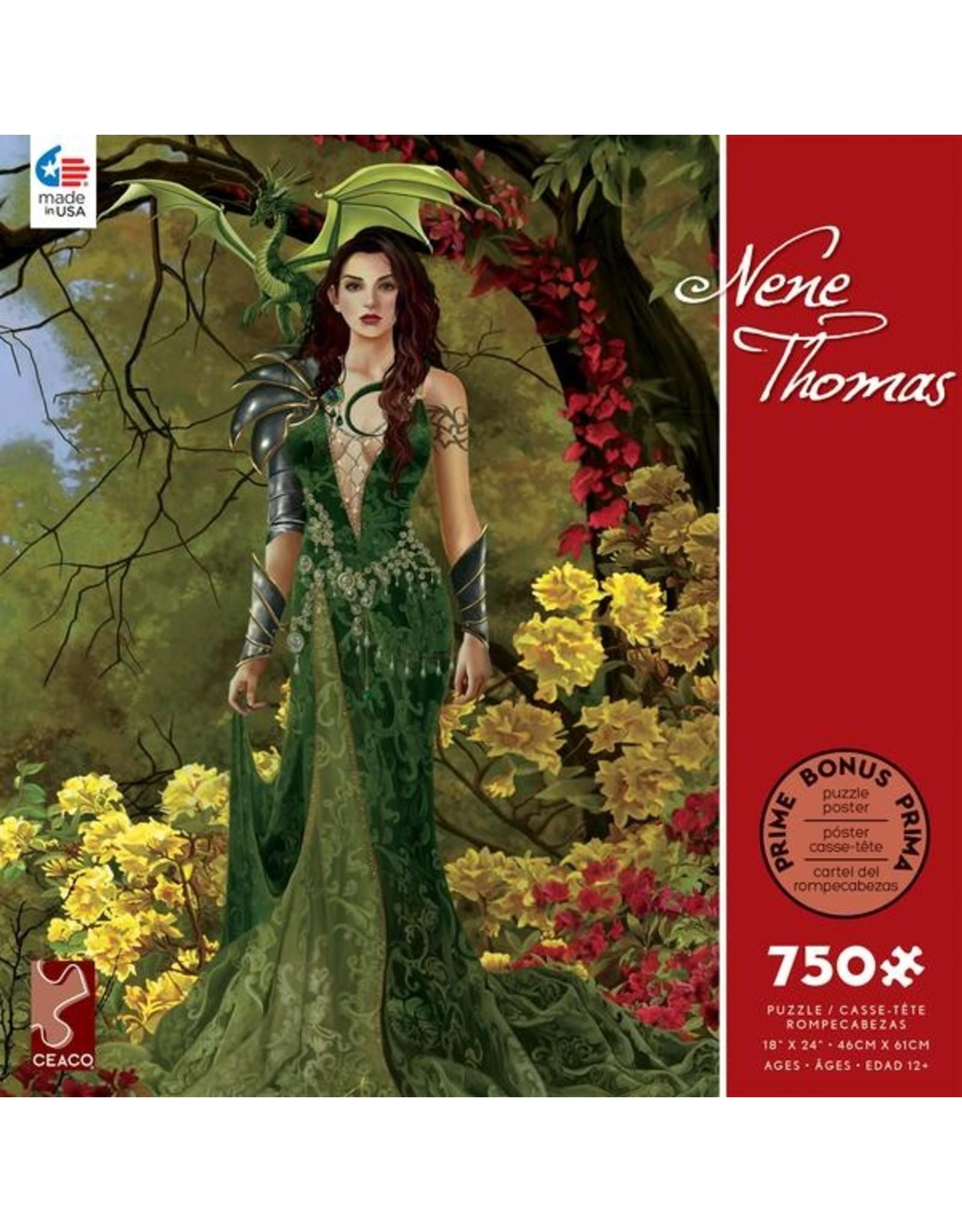 "Ceaco Nene Thomas Collection: ""Topaz Forest"" 750 Piece Puzzle"