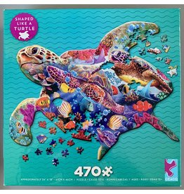 "Ceaco ""Turtle"" 470 Piece Shaped Puzzle"
