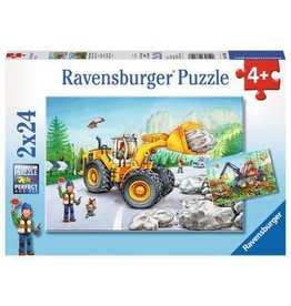"Ravensburger ""Diggers at Work"" 2x 24 Piece Puzzles"