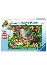 """Ravensburger """"Tropical Friends"""" 60 Piece Puzzle"""