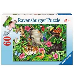"Ravensburger ""Tropical Friends"" 60 Piece Puzzle"