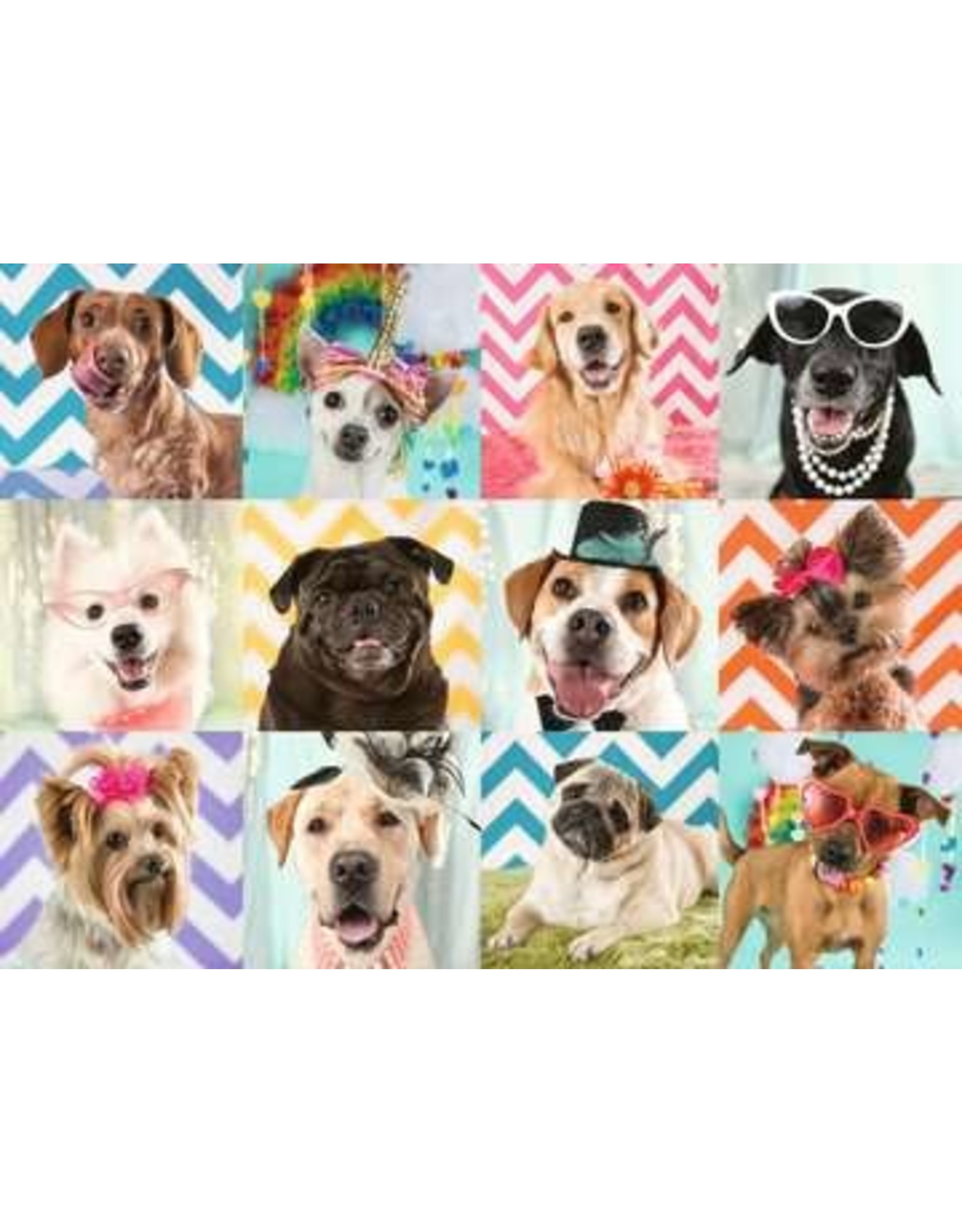 "Ravensburger ""Doggy Disguise"" 100 Piece Puzzle"