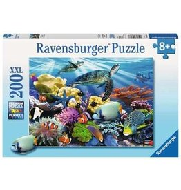 "Ravensburger ""Ocean Turtles"" 200 Piece Puzzle"