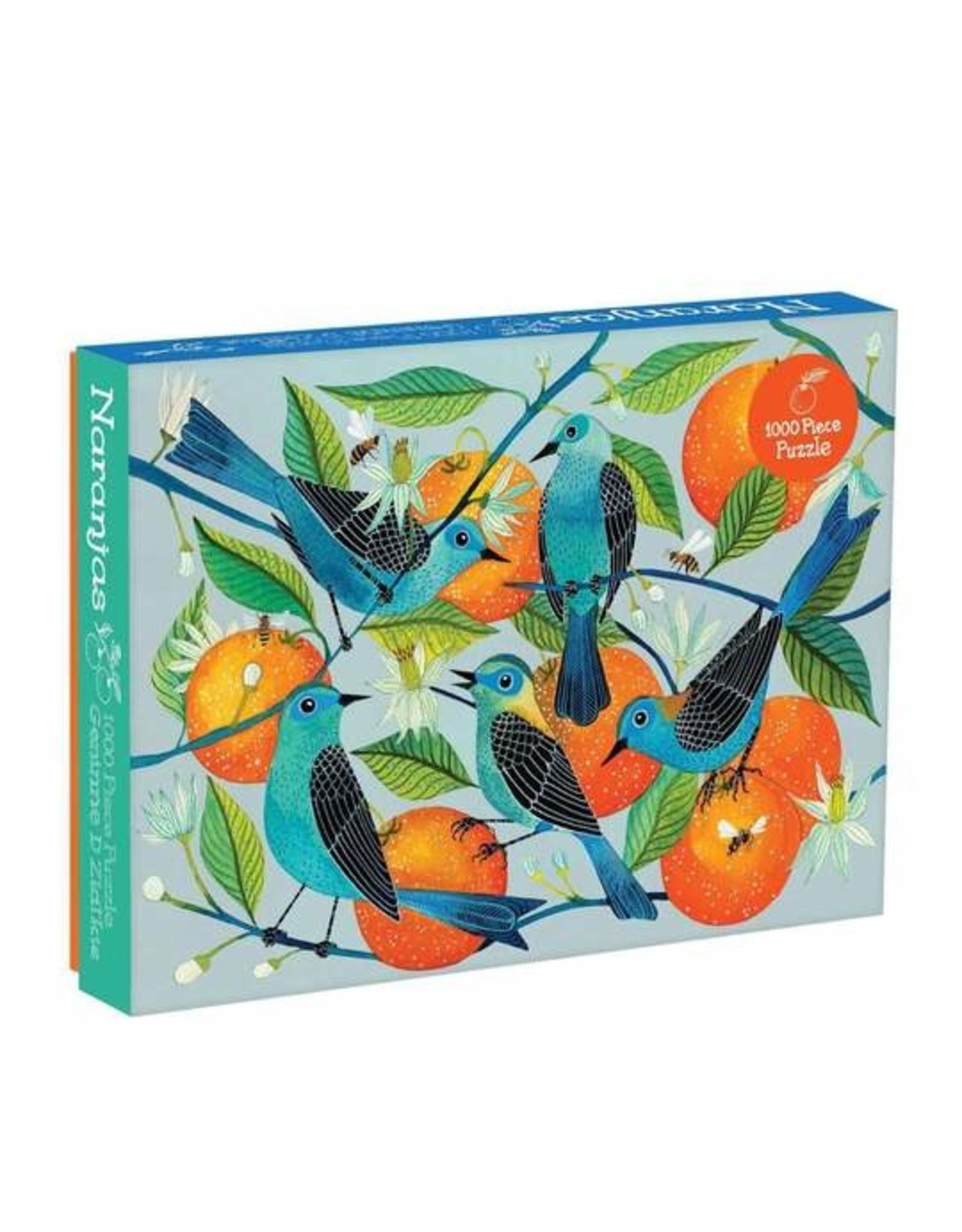 "Galison ""Naranjas"" 1000 Piece Puzzle"